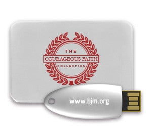 Courageous Faith Flash Drive