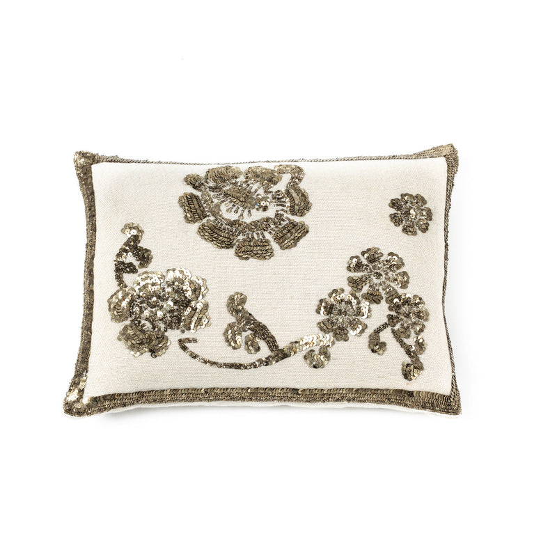 Pillow Bag  30X40 · Bordado a Mano · Diseño Paisley