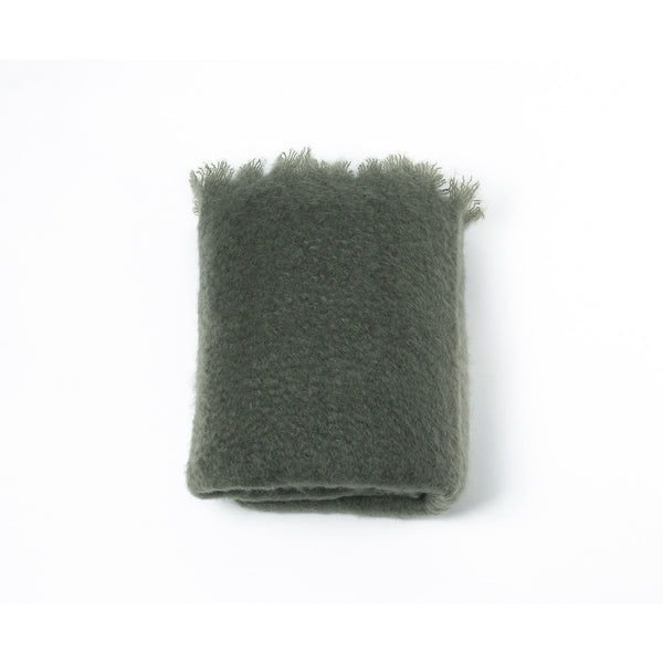 Manta De Mohair · Color Verde Acacia · Darling