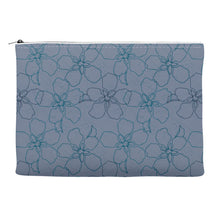 Accessory Bag simple floral blue surface pattern print