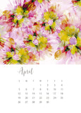 jenny bova desk calendar 2020 april