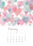 jenny bova desk calendar 2020 february