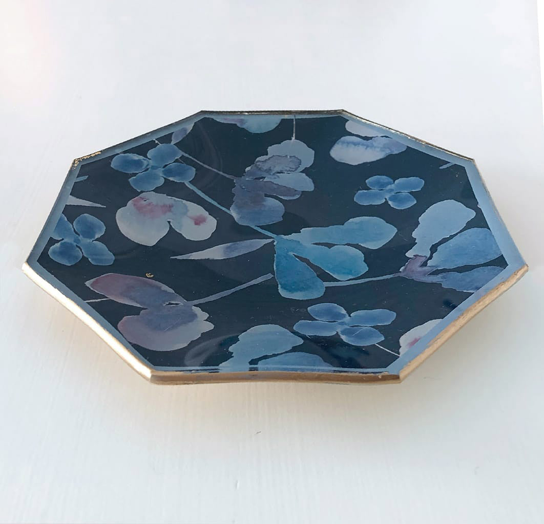 Octagonal Catchall Trays