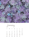 jenny bova desk calendar 2020 january