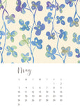jenny bova desk calendar 2020 may
