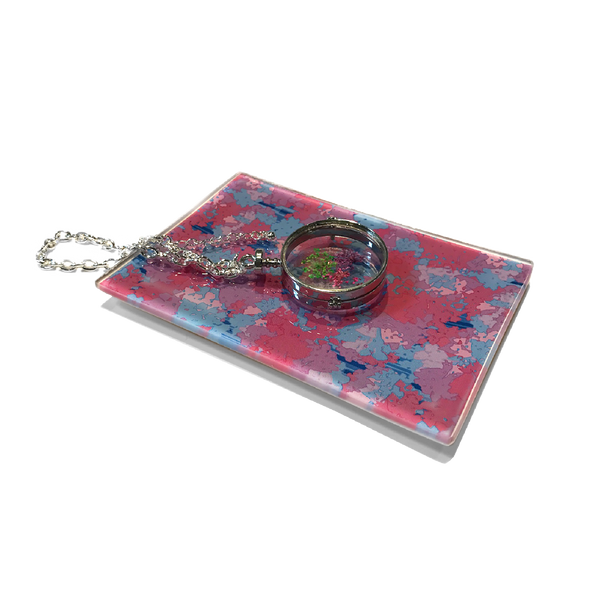Graphic Naturals Mini Glass Tray
