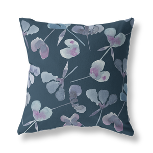 Intricate Beauty Floral Throw Pillow