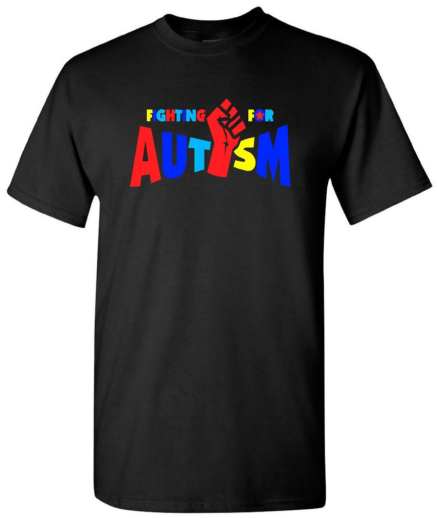 bc856e3f351 Autism Awareness T-Shirts; Fighting Autism Shirts for Men - Our T Shirt  Shack
