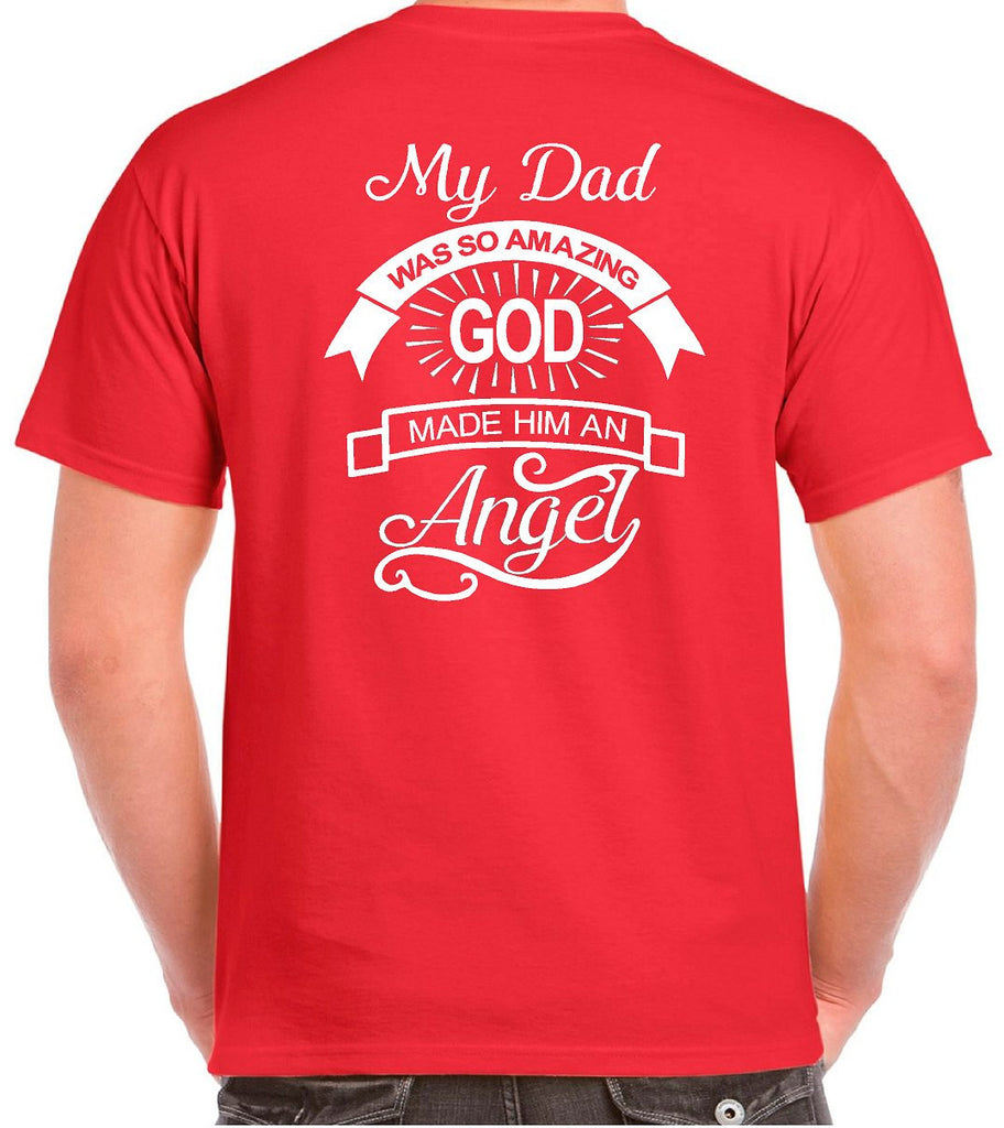 2d38fcb052b22 ... In Loving Memory Angel Wings Plus Size T-shirts - Our T Shirt Shack ...