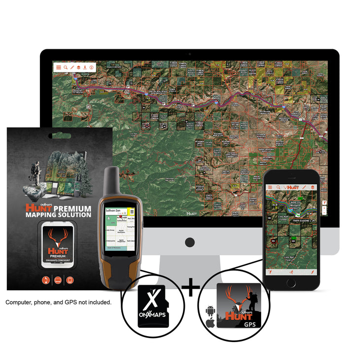 OnXMaps HUNT Premium Mapping Solution