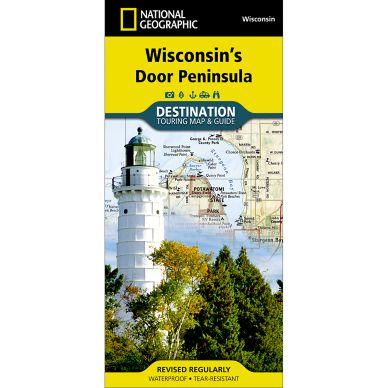 National Geographic Door Peninsula Map
