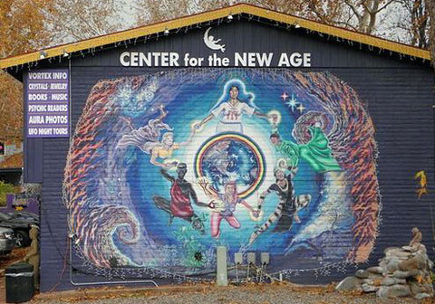 World Famous Mural at the Center for the New age