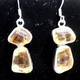 Faceted Citrine Necklace w/Earrings