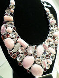 Peruvian Opal Necklace w/Earrings