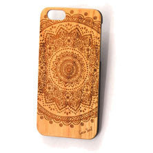 Mandala 2 Wood Phone Case