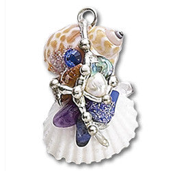 Sea Goddess Psychic Amulet