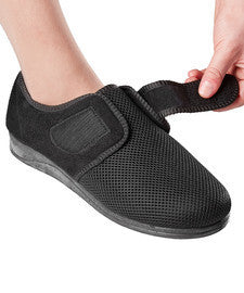 Womens Comfortable Indoor/outdoor Shoe Slippers With VELCRO¾À_ Brand Fastener Straps