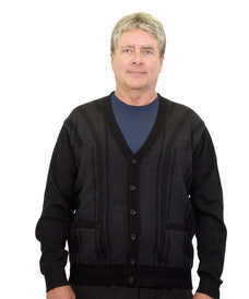 Cardigan Sweater For Men With Pockets - Quality Cardigan Sweater For Seniors