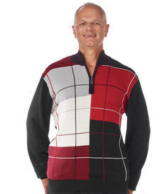 Washable Pullover Sweater For Men - Mens Arthritis Clothing