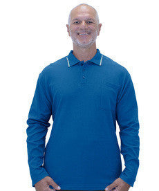 Adaptive Polo Shirt Top For Men - Mens Disability Clothing