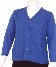 Adaptive Open Back Light Weight Cardigan Sweater With Pockets