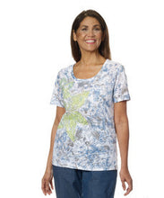 Womens Short Sleeve T Shirt Top For Elderly - Summer Tshirt For Seniors