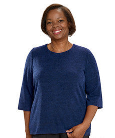 Adaptive Sweater Top For Women - Adaptive Wheelchair Fashion - Winter Warmth
