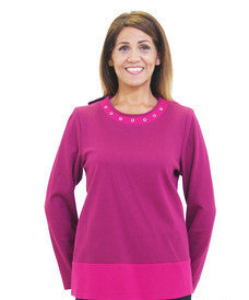 Adaptive Apparel Top For Women - Disabled Adults Clothes