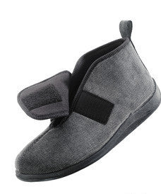 Comfortrite Wide Slippers For Men - Extra Wide Extra Deep Fit - Up To Size 14