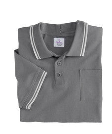 Adaptive Clothing Men - Adaptive Polo Shirt  - Wheelchair - Back Snap