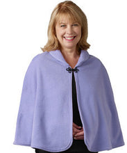 Womens Bed Jacket Cape - Bed Fleece Shawl - Ladies Hospital Bed Jacket