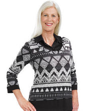 Adaptive Sweater Top - Womens Wheelchair Fashion For Disabled Adults