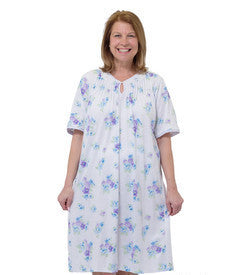 Adaptive Hospital Patient Gowns For Women - Open Back Nightgown For Women
