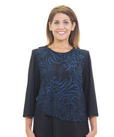 Beautiful Adaptive Clothing Top For Women - Back Snap Tops
