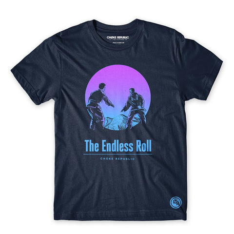 Endless Roll Tee - Navy