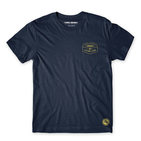 Armbar Flying Club Tee - Navy