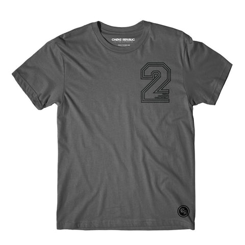 2 Points Tee - Grey