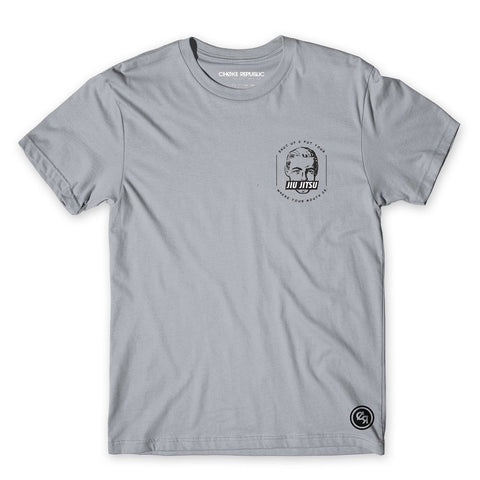Jiu Jitsu Mouth Tee - Grey