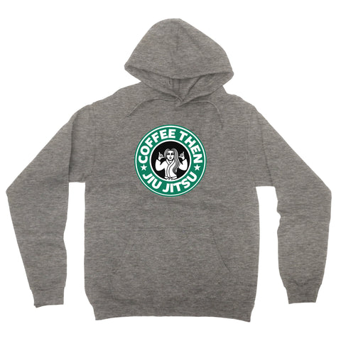 Coffee Hoodie - Heather Grey
