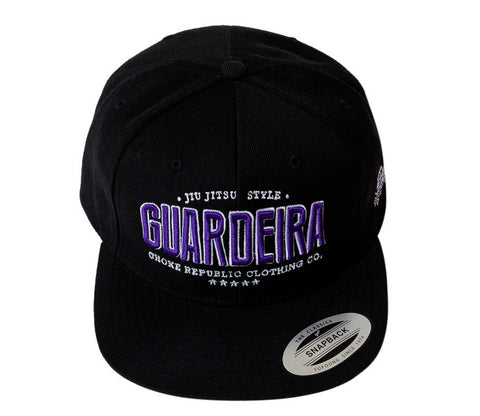 Guardeira Snapback Hat - Black/Purple