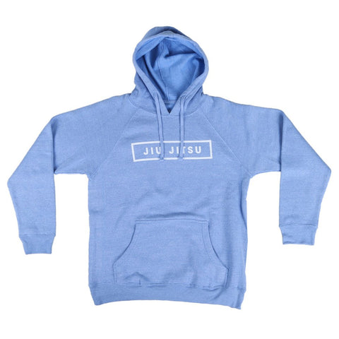 JIU JITSU BOX HOODIE - LIGHT BLUE