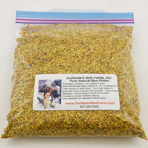 Pure Natural Bee Pollen 1 pound bag