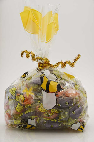 2LB Honey Candy in Decorative Bag