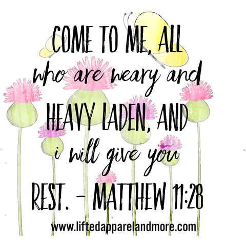 Come All Who Are Weary