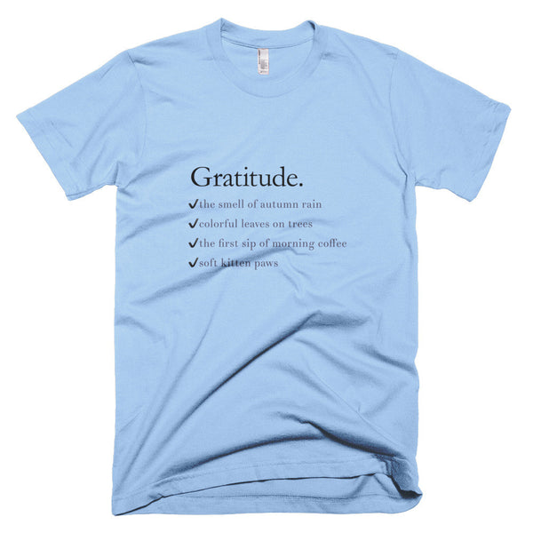 Gratitude List Tee - Lifted Apparel and More