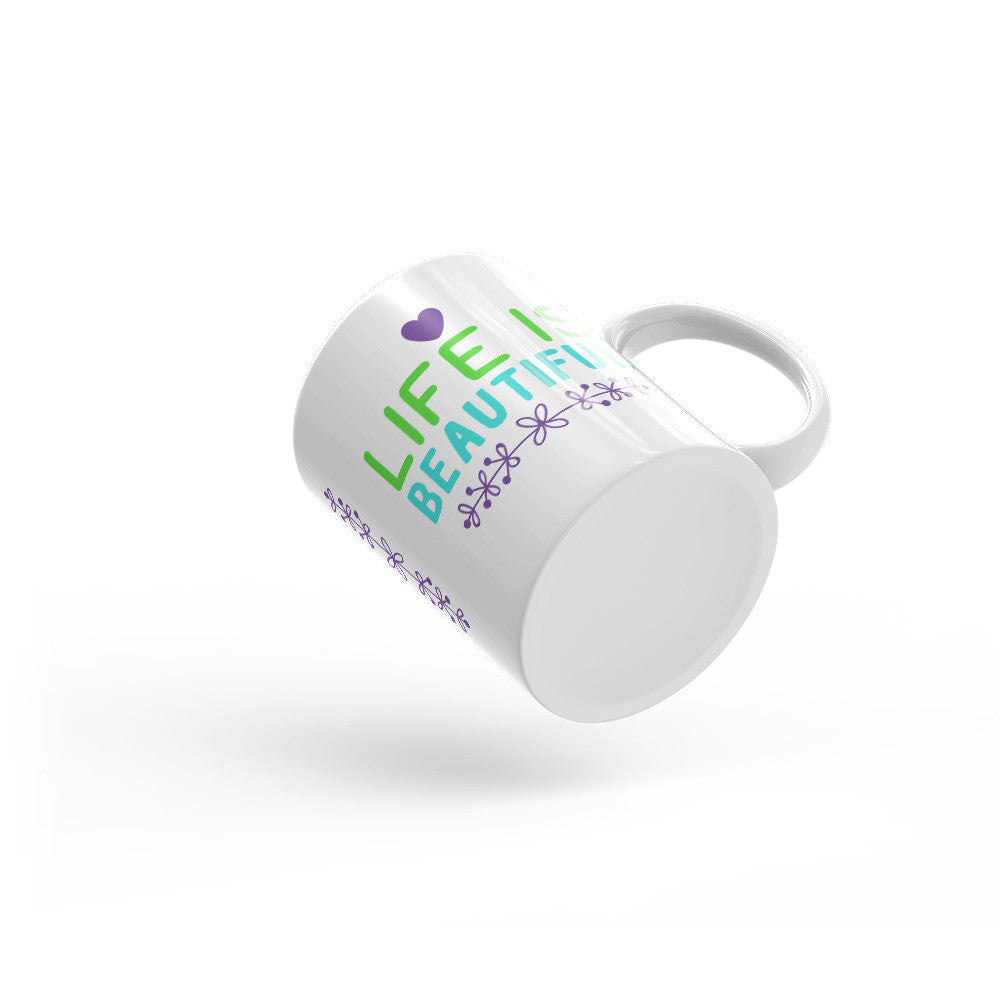 Life is Beautiful Mug - Lifted Apparel and More