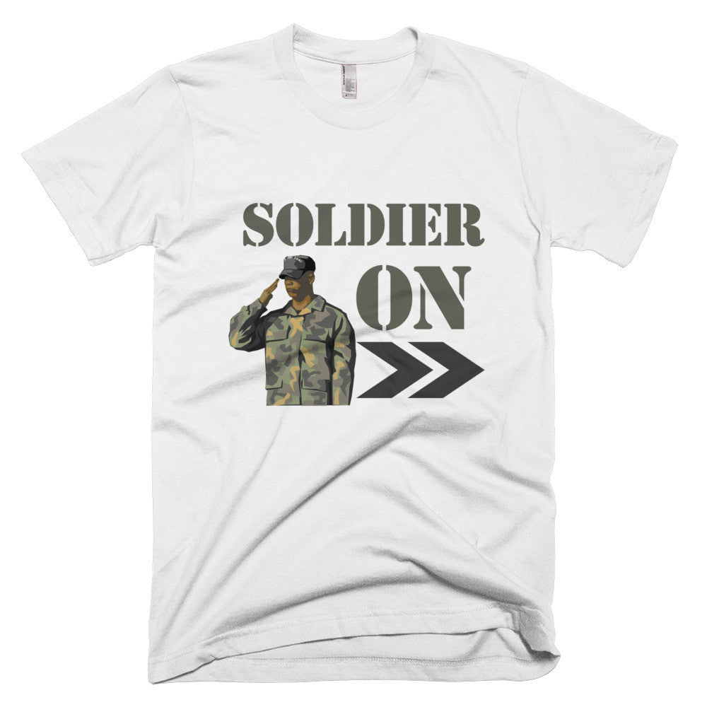 Soldier On Tee