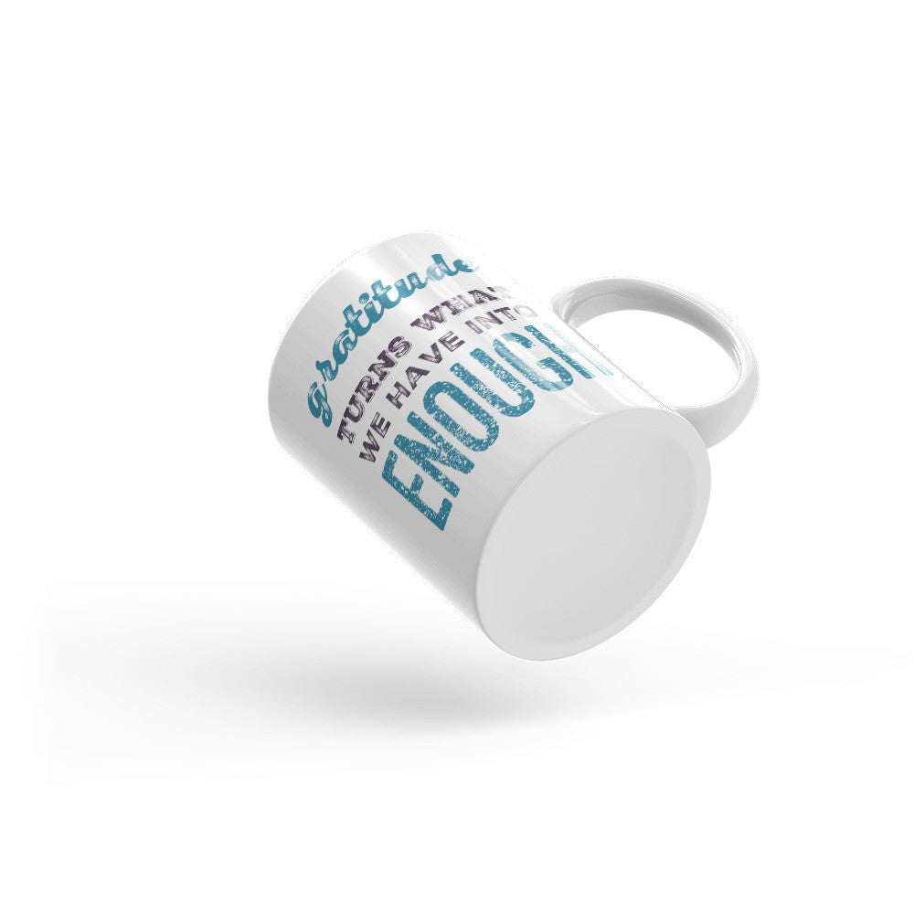 Gratitude Quote Mug - Lifted Apparel and More