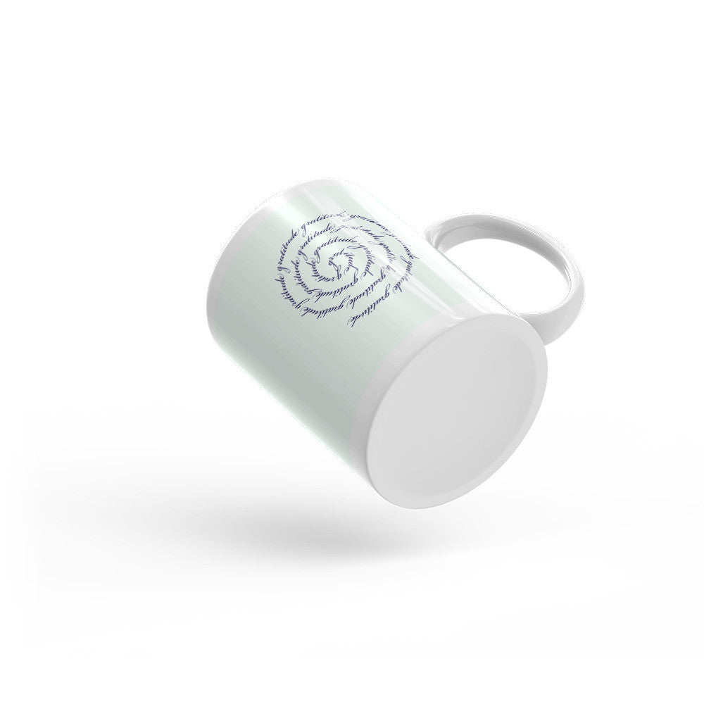 Gratitude Symbol Mug - Lifted Apparel and More