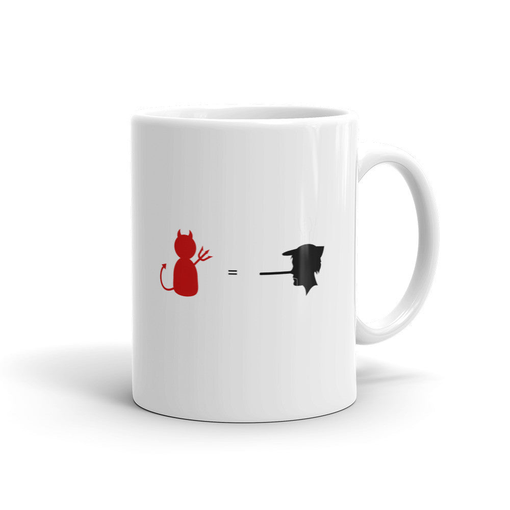 Lying Devil Mug - Lifted Apparel and More